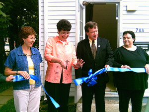Smaller Grand opening on Walthen with wendy, cheryl and wanda